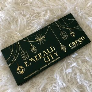 Cargo Cosmetics Emerald City Eyeshadow Palette NIB